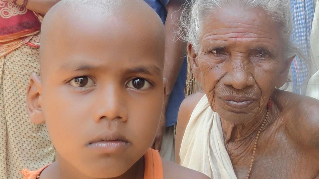 Photo of a child and women in slavery in Nepal. Credit: Sunil Sainju, Geneva Global