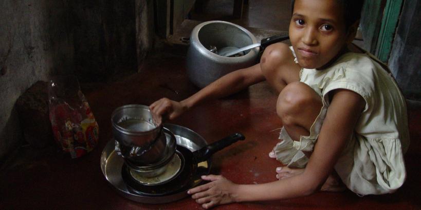 Trafficking - Child Maid Servant