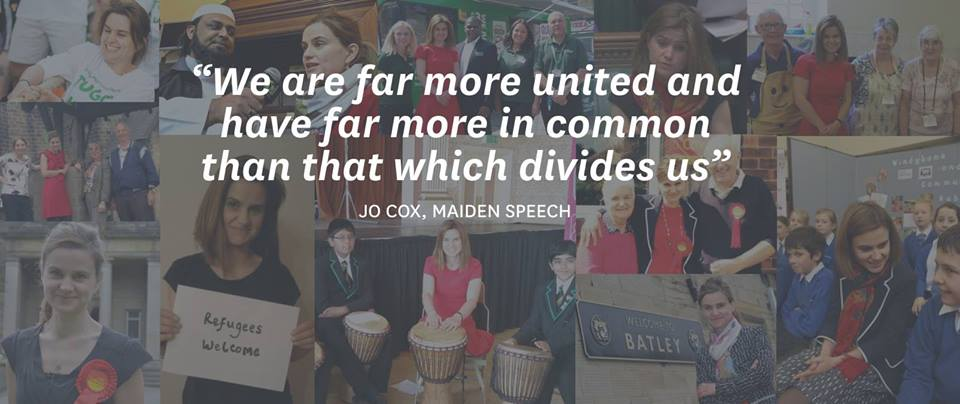 moreincommon - Celebrating the life and legacy of Jo Cox
